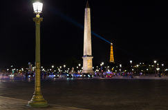 Place de la Concorde Stock Photography