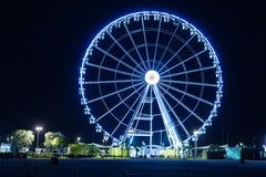 Place de la Concorde nachts Lizenzfreie Stockbilder