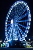 Place de la Concorde nachts Stockfotos