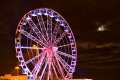 Place de la Concorde nachts Lizenzfreie Stockfotos