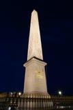 Place de la Concorde and  Obelisk of Luxor, Paris Stock Image