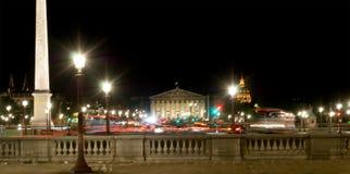 Place de la Concorde and  Obelisk of Luxor, Paris, Fran Royalty Free Stock Images