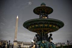 Place de la Concorde, París Imagen de archivo libre de regalías