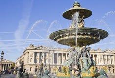 Place de la Concorde, París Imágenes de archivo libres de regalías