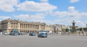 Place de la Concorde, París Foto de archivo libre de regalías