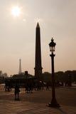 Place de la Concorde, Parigi Immagine Stock