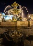 Place de la Concorde, Parigi, Francia Fotografie Stock Libere da Diritti
