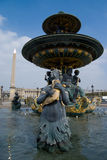 Place de la Concorde , Paris Stock Images