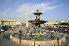 Place De La Concorde, Paris Stock Image