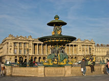 Place de la Concorde Paris Stock Photo