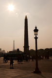 Place de la Concorde, Paris Image stock