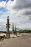 Place de la Concorde in Paris Royalty Free Stock Image