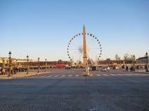Place de la Concorde, Paris stockfoto