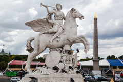 Place de La Concorde Paris Stock Images