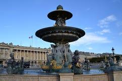 Place de la Concorde in Paris Royalty Free Stock Photo