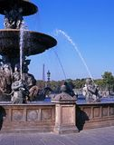Place de la Concorde, Paris. Stock Photography
