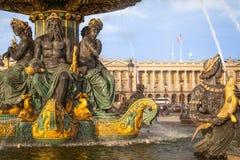 Place de la Concorde, Paris Stock Images