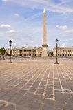 Place de la Concorde Paris France Photos libres de droits