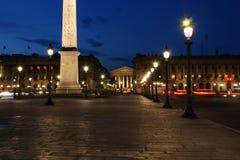 Place de la Concorde, Paris, France Royalty Free Stock Image