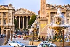 Place de la Concorde. Paris France Stock Photography