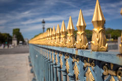 Place de la Concorde Stock Image