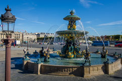 Place de la Concorde in Paris Stock Photo