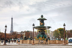 Place de la Concorde in Paris, France Stock Image