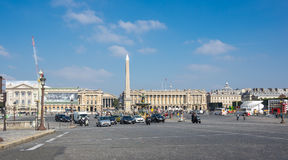 Place de la Concorde Royalty Free Stock Photos