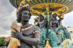 Place de la Concorde - Paris, France Royalty Free Stock Photos