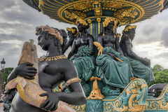 Place de la Concorde - Paris, France Stock Images
