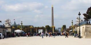 Place de la Concorde Royalty Free Stock Photography