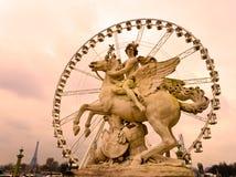 Place de la Concorde, Paris - Frankreich Stockfotos