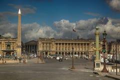 Place de la concorde in Paris Stock Images