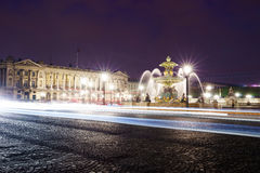 The Place de la Concorde Royalty Free Stock Photography