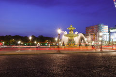 The Place de la Concorde Royalty Free Stock Photo