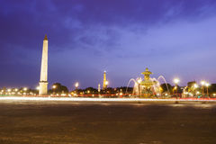 The Place de la Concorde Stock Photo