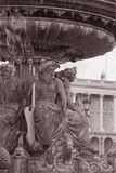 Place de la Concorde Square in Paris Royalty Free Stock Image