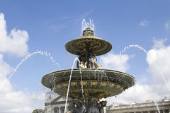 Place de la Concorde Royalty Free Stock Photography