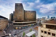 Place de la Monnaie en Bruselas, Bélgica Foto de archivo libre de regalías