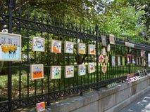 Place de la Nouvelle-Orléans Images libres de droits