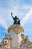 Place de la Republique Royalty Free Stock Images
