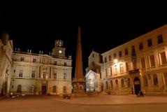 Place de la Republique in Arles Stock Images