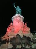 Place de la Republique Paris Stock Photo