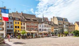 Place de la Reunion in Mulhouse. Stock Image