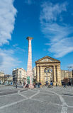 Place de la Victoire in Bordeaux, France Stock Photography