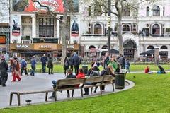 Place de Leicester Images stock