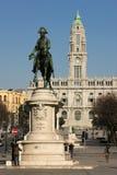 Place de Liberdade. Porto. Portugal photos stock