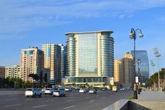 Place de liberté à Bakou Photographie stock
