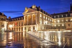Place de libération, Dijon Photographie stock libre de droits