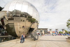 Place de millénaire, Bristol Images libres de droits